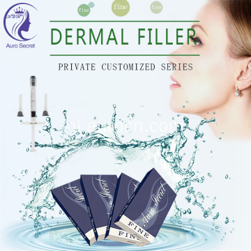 ha derma filler 1 ml injecteerbaar hyaluronzuur
